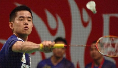 Simon Santoso Juara Singapore Open 2014