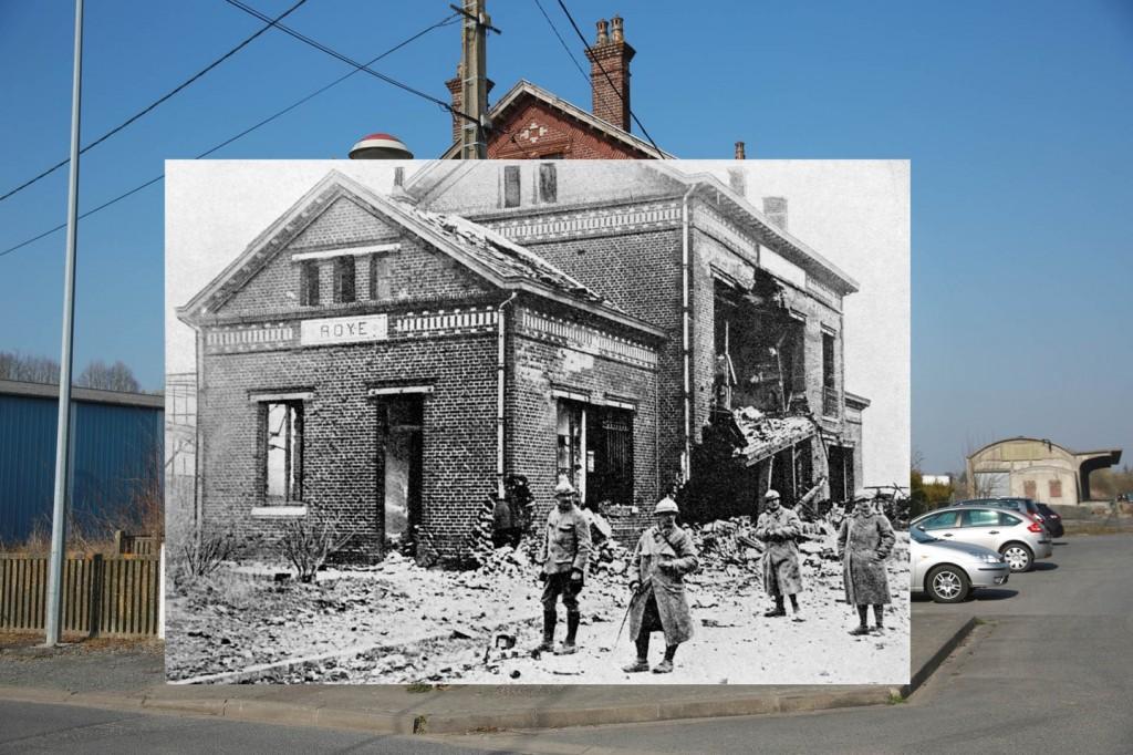 Roye, Somme Kalau pernah melihat bangunan stasiun kereta api Roye di TV, pasti enggak nyangka. Saat perang dulu, bangunan ini enggak luput dari serangan musuh. Untungnya saat ini, pemerintah membangun kembali stasiun dan menjadikannya sebagai salah satu situs bersejarah yang dilindungi dan tetap digunakan pengguna kereta api.